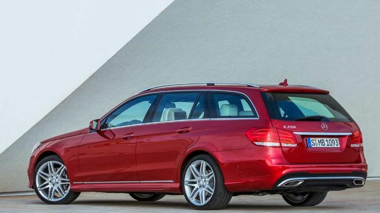 New Mercedes-Benz E-Class wagon.