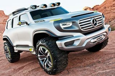 Mercedes-Benz will take public a plan for a new range of rugged SUV models at the 2012 Los Angeles motor show next week with the unveiling of its new Ener-G-Force concept car – an imposing seven-seater that, in kitted-up Highway Patrol Vehicle guise, al