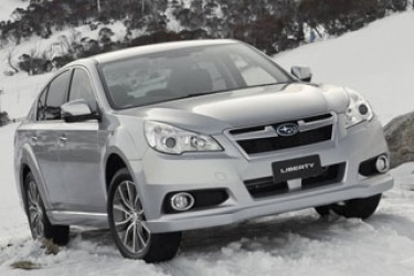 Car pool: Subaru Liberty X
