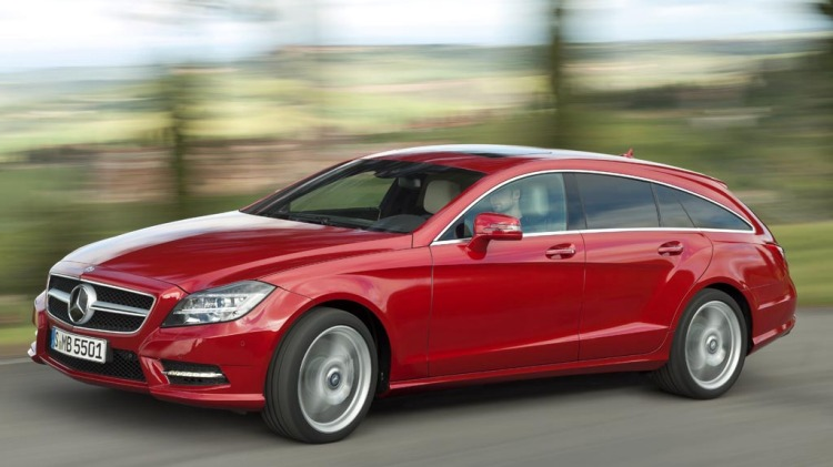 New Mercedes-Benz CLS Shooting Brake (wagon).