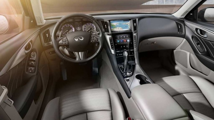 Infiniti Q50 sedan.