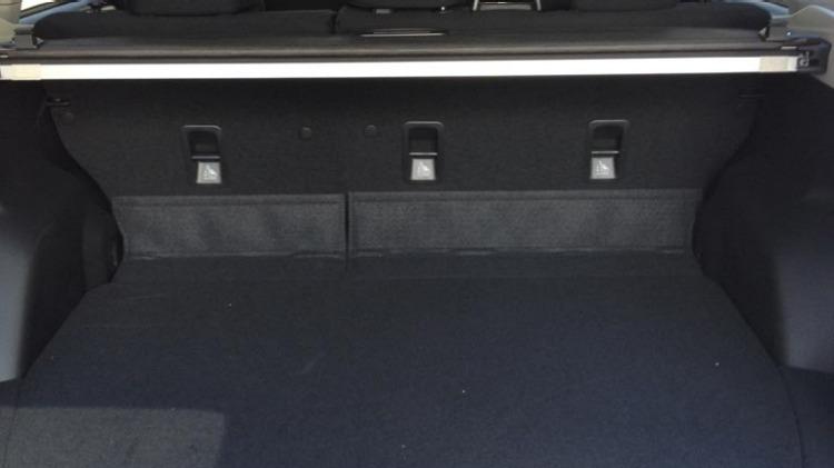 Subaru Forester rear seats.