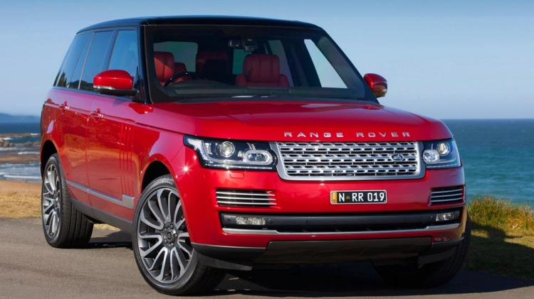 Range Rover Supercharged Autobiography.