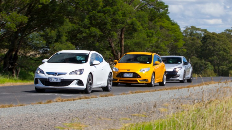 We pit three of the best hot hatches on the market against each other.