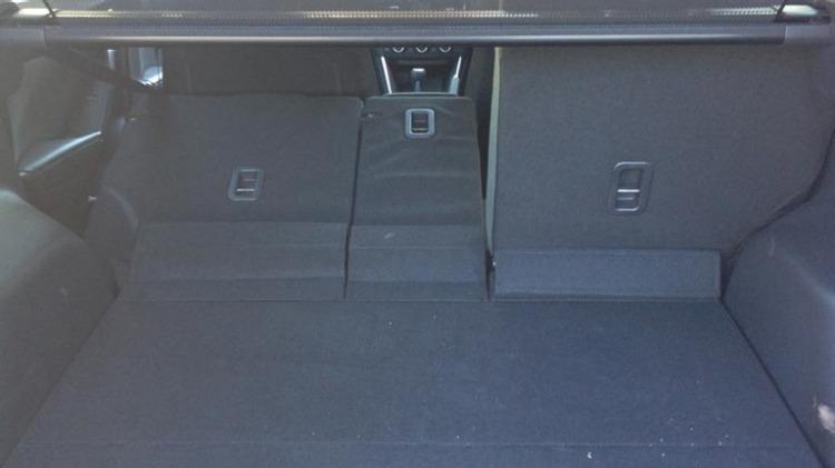 Mazda CX-5 rear seats.