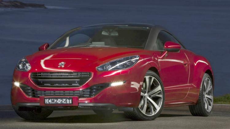Peugeot RCZ.