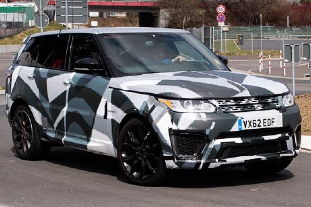 Spied: Range Rover Sport RS