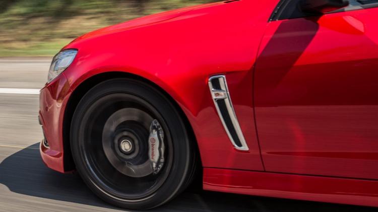 Holden VF Commodore SV6 Redline Ute.