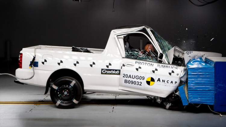 ANCAP not only judges cars on how he holds up in crash tests but on all its safety features.