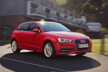Car pool: Audi A3