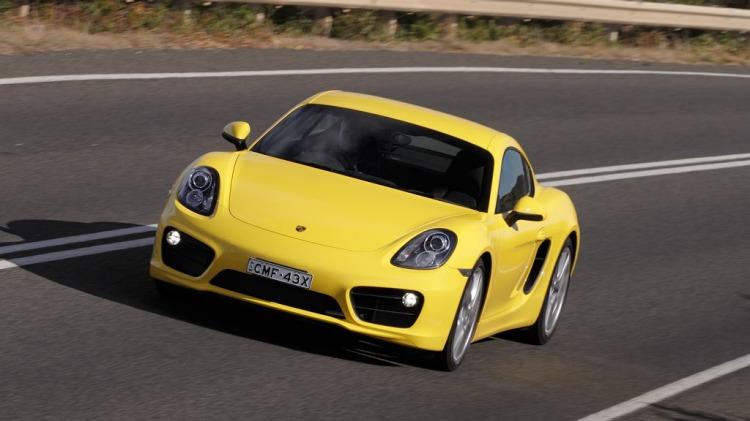 Porsche Cayman S.