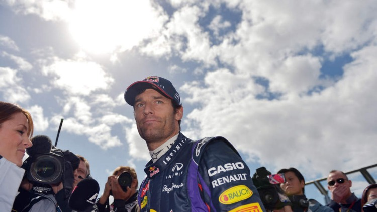The Age 17th March 2013.  Australia F1 Grand Prix.  Mark Webber before the race.  Photo by JOE ARMAO The Age 17th March 2013. Australia F1 Grand Prix. Mark Webber before the race. Photo by JOE ARMAO
