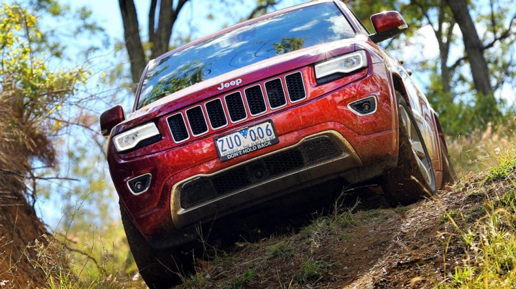 Jeep Grand Cherokee Overland.