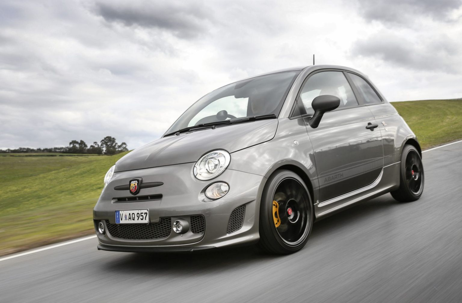 The new Fiat 595 Competizione sits at the top of an expanded Abarth range.
