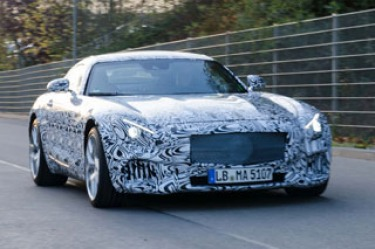 Mercedes-Benz GT AMG: Latest images