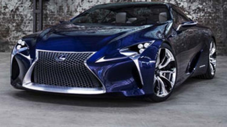 Lexus hints at new hybrid supercar
