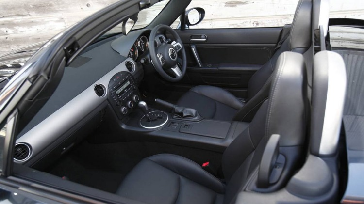 2009 Mazda MX-5 roadster.