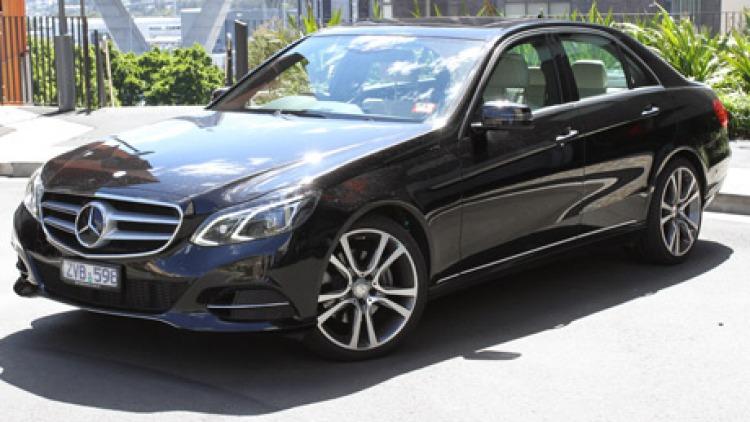 Mercedes-Benz E300 Bluetec Hybrid.