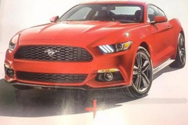 Ford Mustang leaked