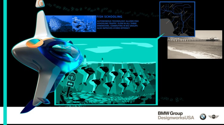BMW Group DesignworksUSA: Mini L.A. Subways.