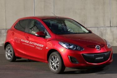 Mazda2 EV range extender