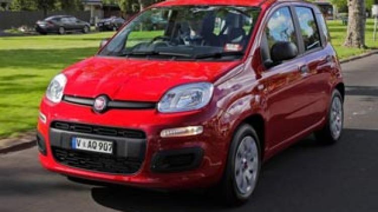 Fiat Panda Pop carpool