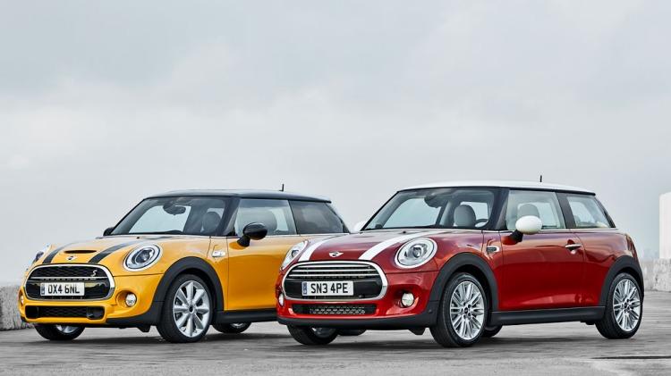 New Mini Cooper S and Cooper.