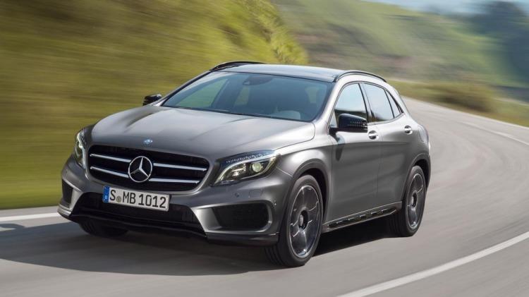 New Merecdes-Benz GLA.