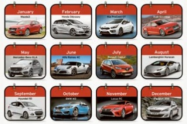 New Cars of 2014 A-V