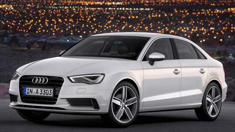 Audi A3 sedan.