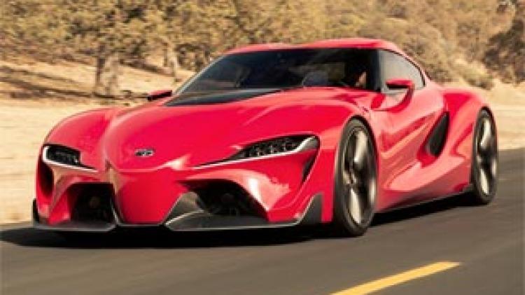 Video game inspires Toyota FT-1 concept car, reviving Supra legend