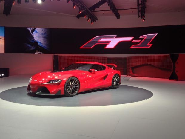 Gamer's delight ... Toyota has revealed the FT-1 concept car, which will now appear on popular driving simulator Gran Turismo 6.