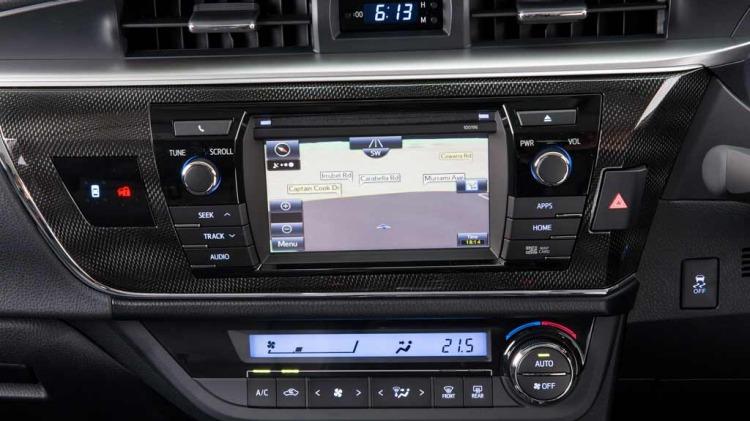 2014 Toyota Corolla sedan.