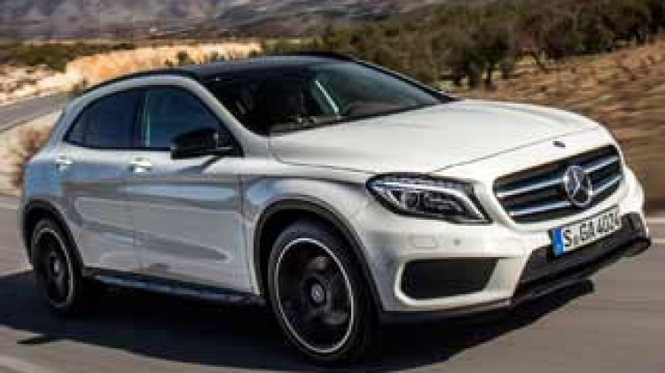 Mercedes-Benz GLA first drive review