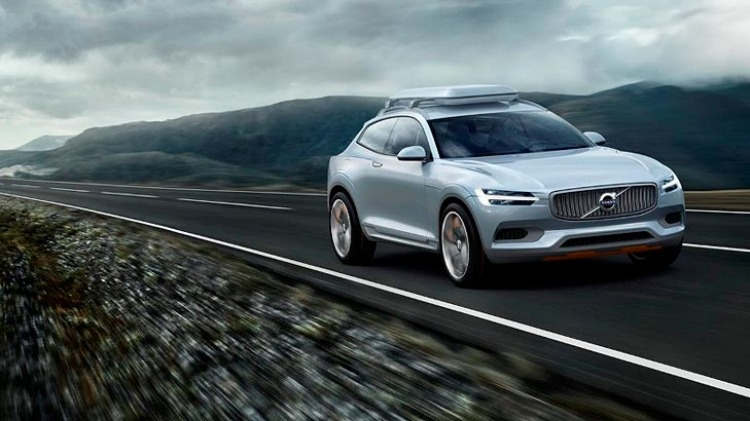 Volvo's new Concept XC Coupe has been revealed ahead of its Detroit 2014 debut.