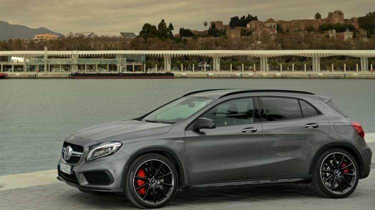 Mercedes-Benz GLA45 AMG.