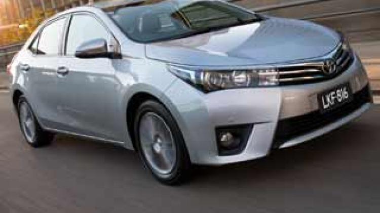 Toyota Corolla sedan first drive review