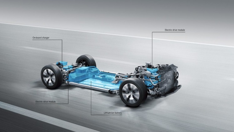Mercedes-Benz will launch a range of new electric vehicles using this newly developed platform.