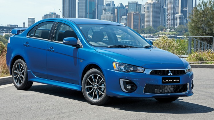 The Mitsubishi Lancer is among the thousands of cars recalled.
