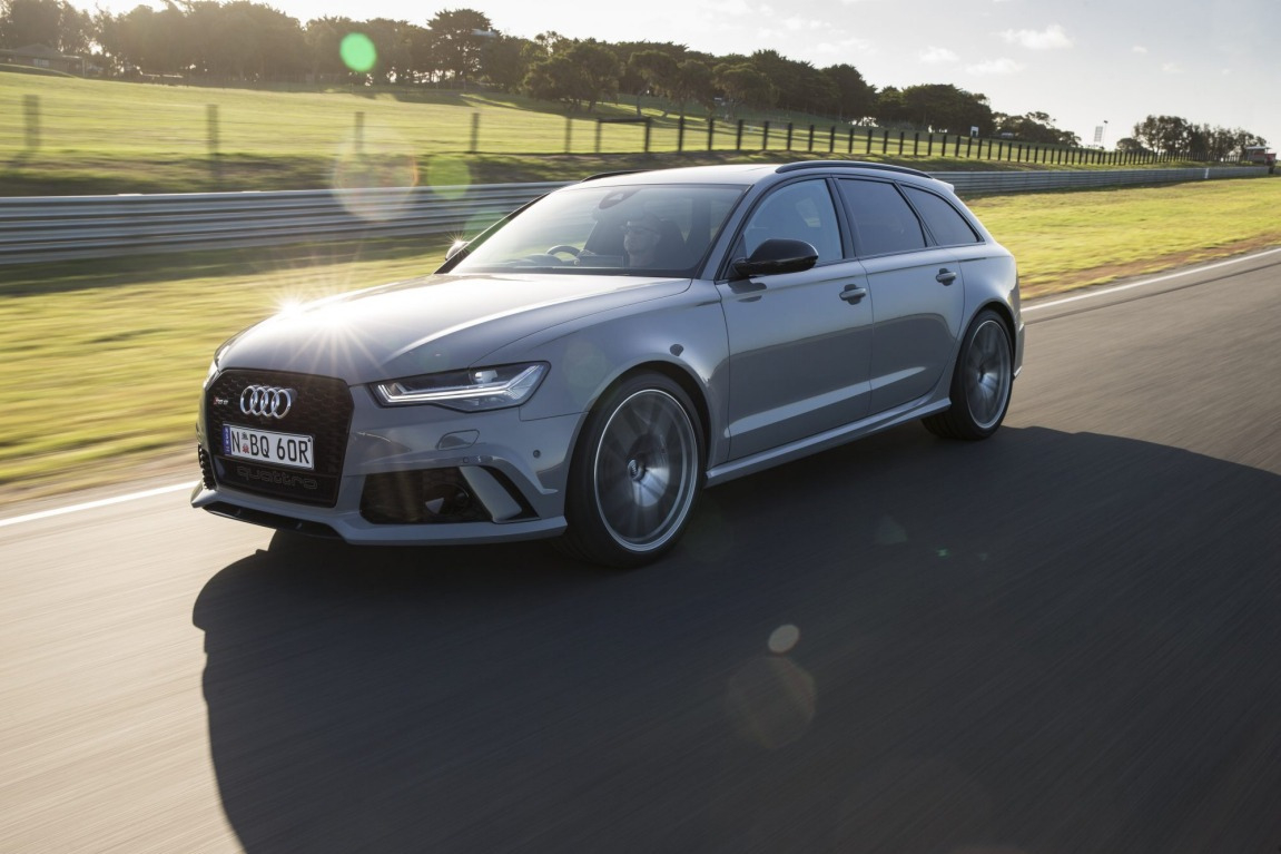The Audi RS6 Avant Performance has added more power to the world's fastest wagon.
