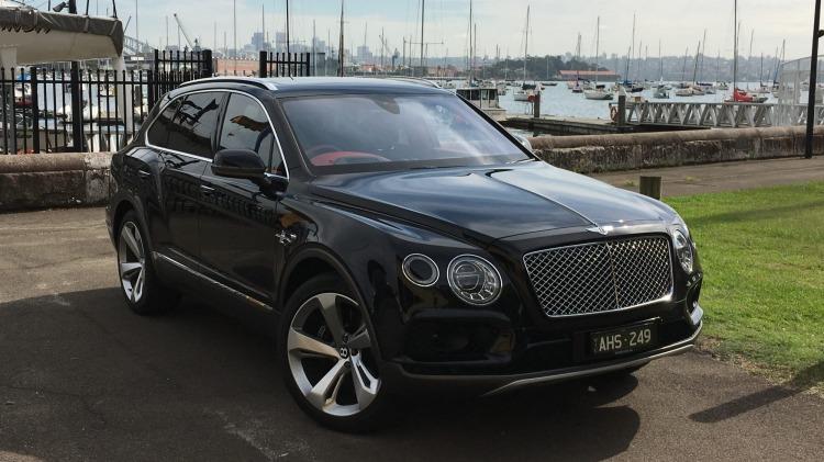 The 2016 Bentley Bentayga.