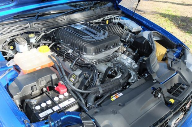 The Falcon GT F boasts an official 351kW, but can produce more than 400kW in the right conditions.