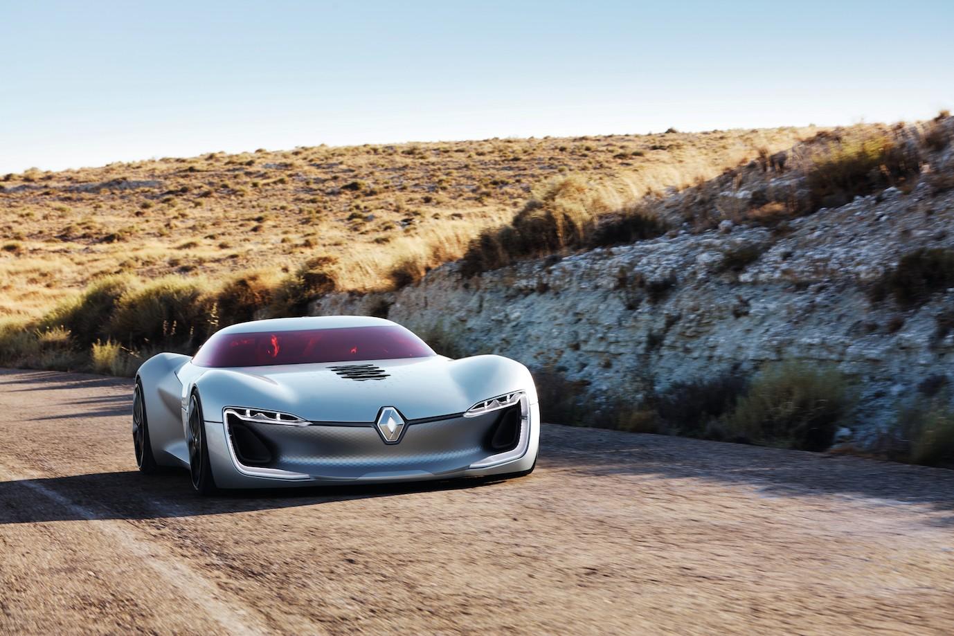 Renault's Trezor An Electric Car Fantasy