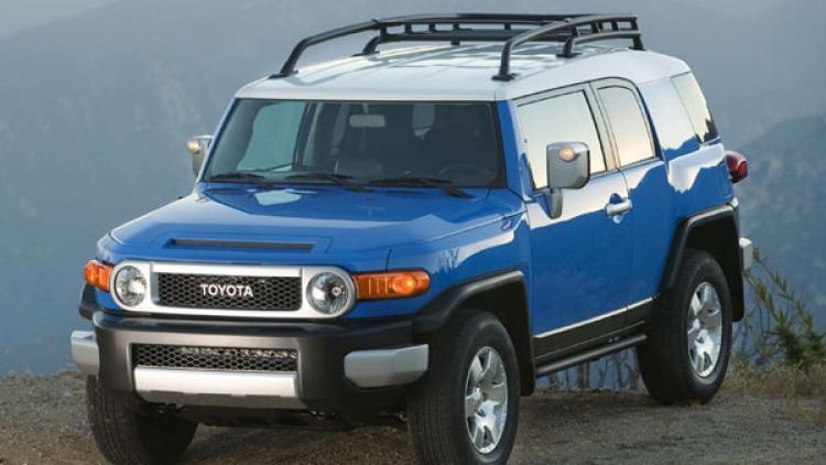Toyota FJ Cruiser.
