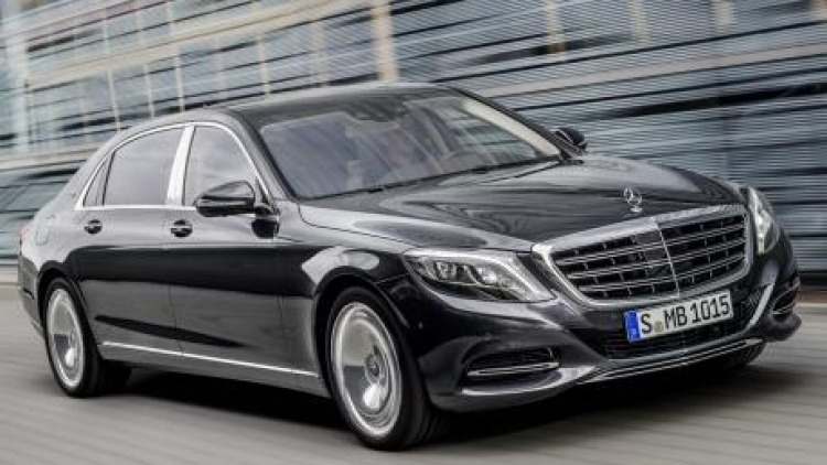 The new Mercedes-Maybch S600