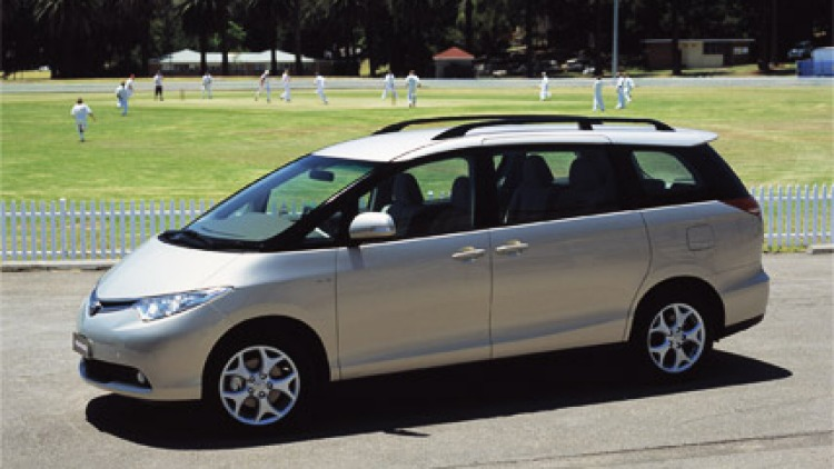 2007 Toyota Tarago V6 GLX