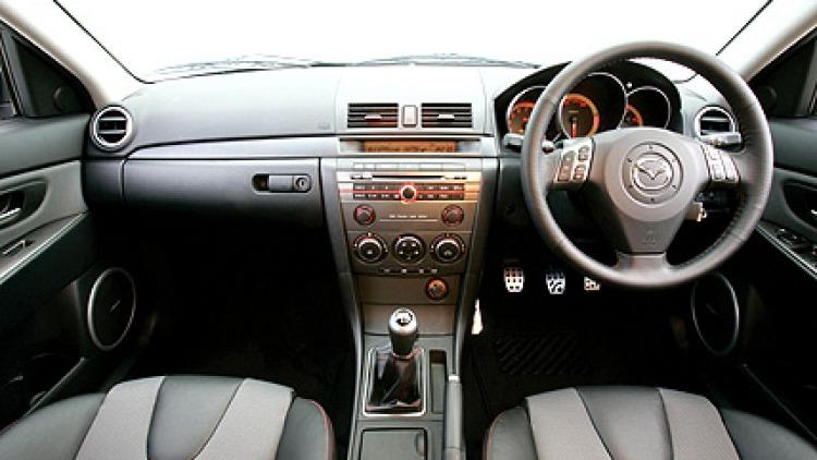 Mazda3 MPS: interior