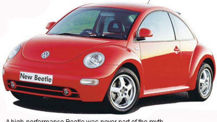 Volkswagen Beetle Turbo 2001 - 2004