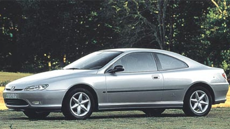 The Peugeot 406 coupe, one of the best-looking two-doors made in modern times.