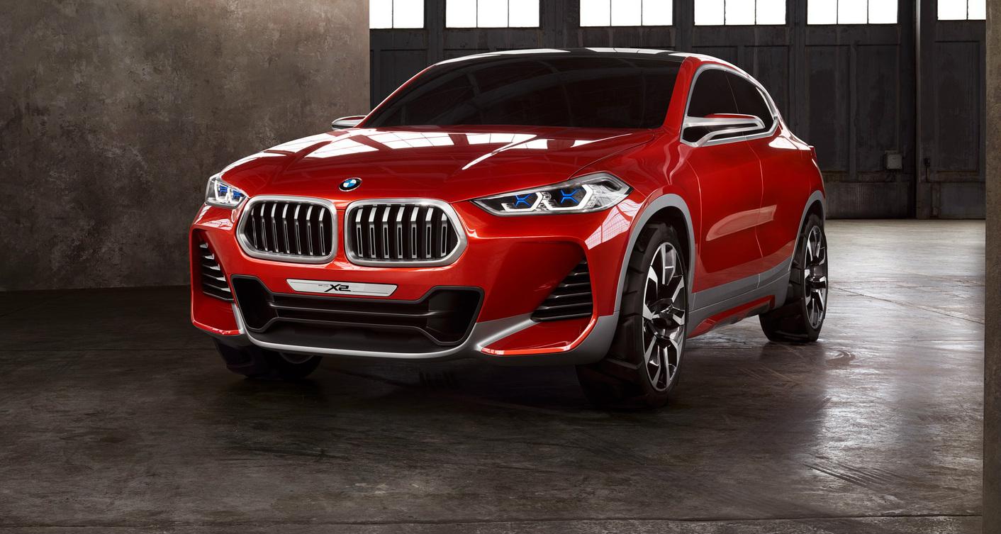 Paris Motor Show Unveiling For BMW's Evoque-Challenging X2
